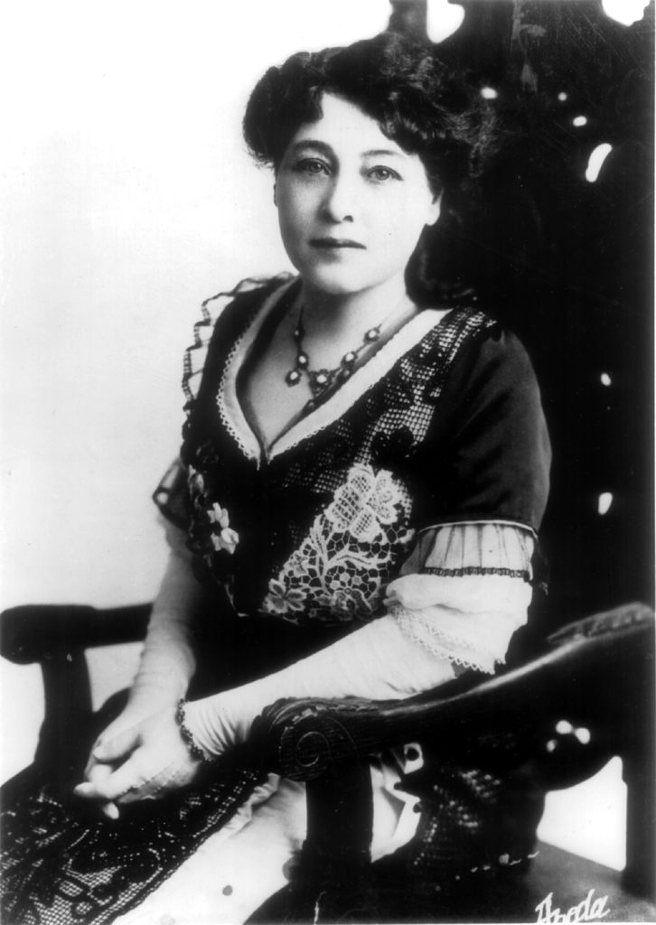 Alice Guy Fuente: https://commons.wikimedia.org/wiki/File:Alice_Guy.jpg Licencia Dominio Público