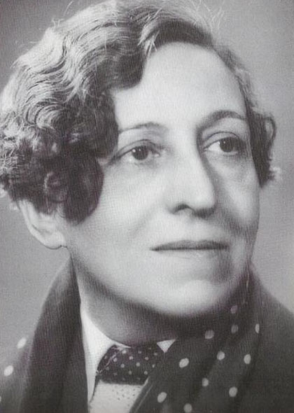 Germaine Dulac Fuente: https://en.wikipedia.org/wiki/File:Germaine_Dulac_(1882%E2%80%931942).jpg