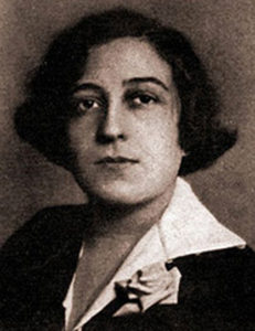 Germaine Dulac Fuente: https://commons.wikimedia.org/wiki/File:Germaine_Dulac.jpg Licencia Dominio Público