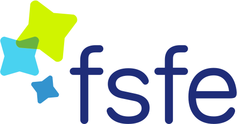 Free Software Foundation Europe Logo  Fuente: https://fsfe.org/about/graphics/graphics.en.html