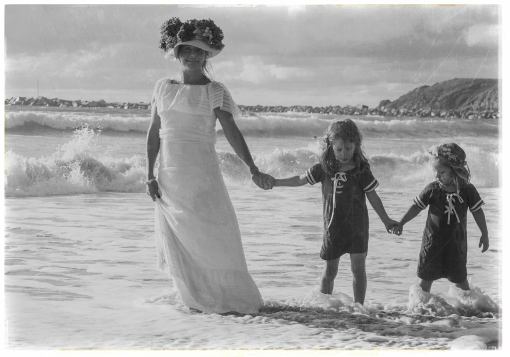 Foto infancia Leocadia Cantalapiedra