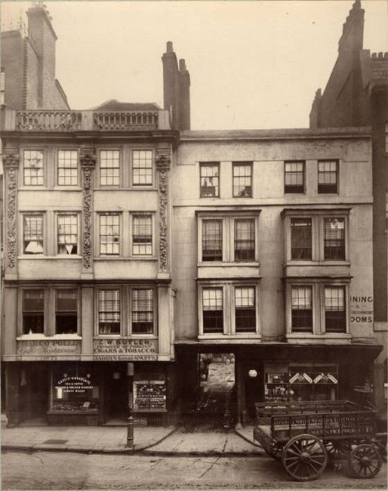 Fotografia Londres victoriano 1883 - Instituto Bishopsgate